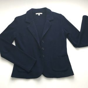 Cabi navy blue button down blazer. Size S